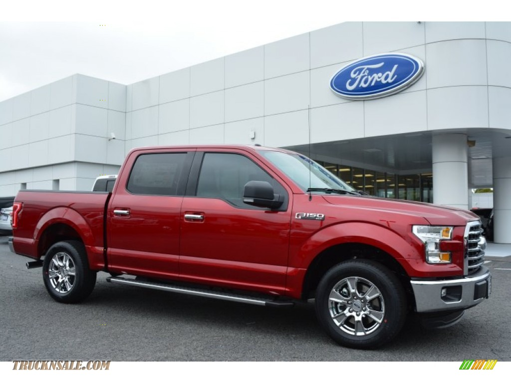 2015 Ford F150 XLT SuperCrew in Ruby Red Metallic - C85031 ...