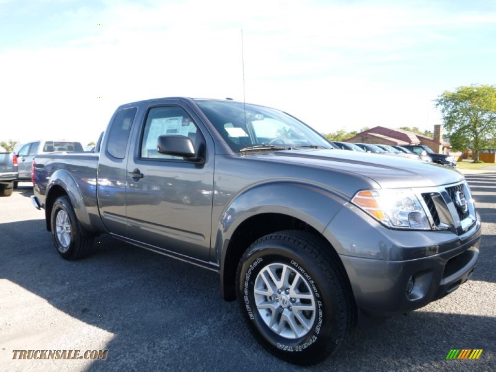 2016 Nissan Frontier SV King Cab 4x4 in Gun Metallic ...