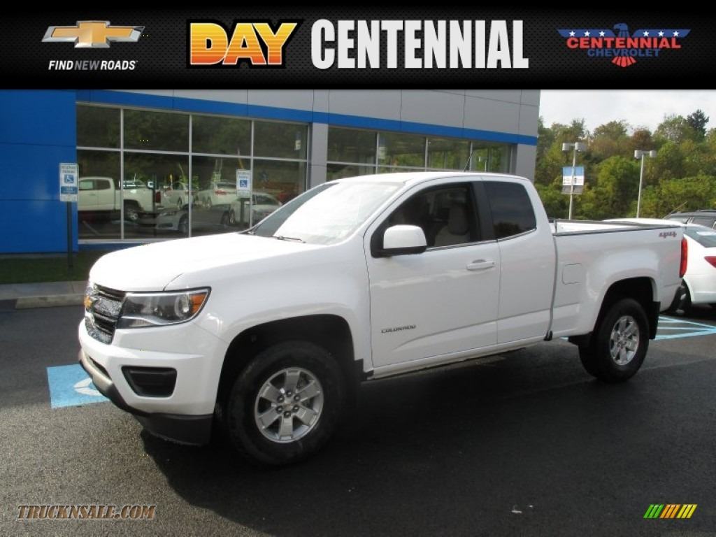 2016 chevrolet colorado wt extended cab 4x4 in summit. Black Bedroom Furniture Sets. Home Design Ideas