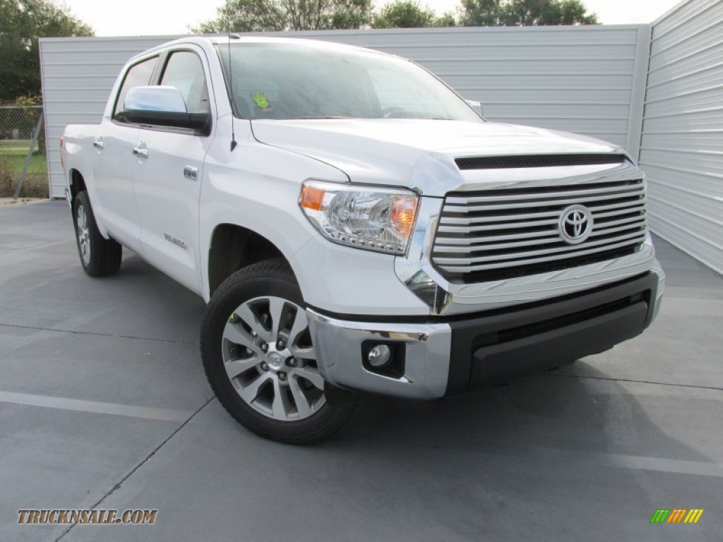 2016 toyota tundra limited crewmax in super white 195343 truck n 39 sale. Black Bedroom Furniture Sets. Home Design Ideas