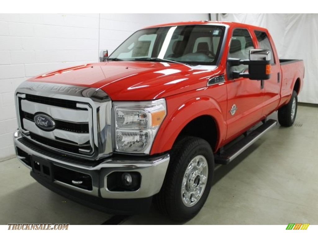 2016 ford f250 super duty xlt crew cab 4x4 in race red photo 3 a63872 truck n 39 sale. Black Bedroom Furniture Sets. Home Design Ideas