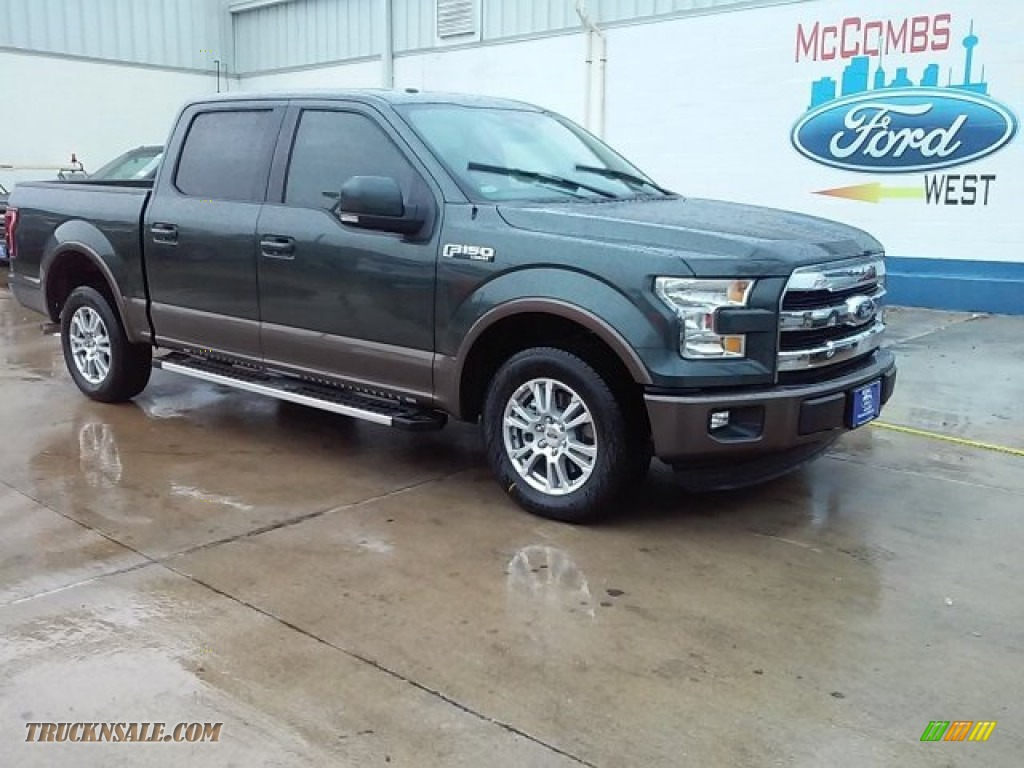 2015 Ford F150 Lariat Supercrew In Guard Metallic E14823