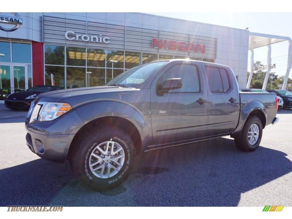 2016 nissan frontier sv crew cab in gun metallic 703331 truck n 39 sale. Black Bedroom Furniture Sets. Home Design Ideas