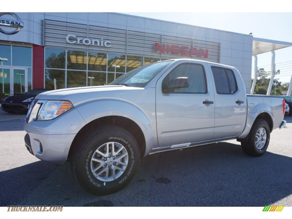 2016 nissan frontier sv crew cab in brilliant silver 703179 truck n 39 sale. Black Bedroom Furniture Sets. Home Design Ideas