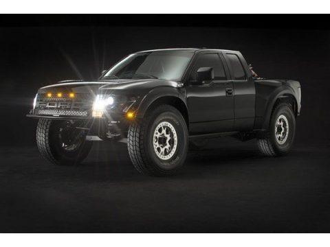 Black 2015 Ford F150 Pre-Runner