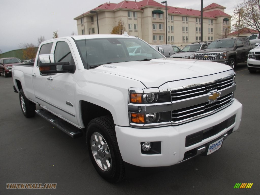 2015 chevrolet silverado 3500hd high country crew cab 4x4 in summit white 679099 truck n 39 sale. Black Bedroom Furniture Sets. Home Design Ideas