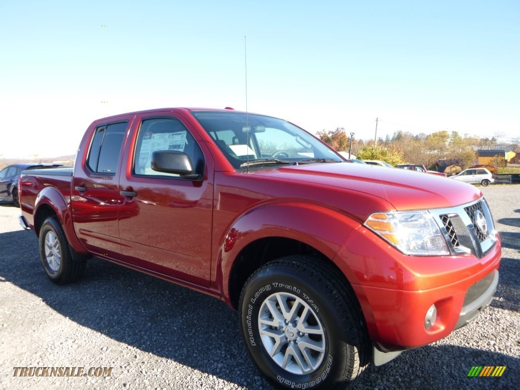 2016 nissan frontier sv crew cab 4x4 in lava red photo 4 710820 truck n 39 sale. Black Bedroom Furniture Sets. Home Design Ideas