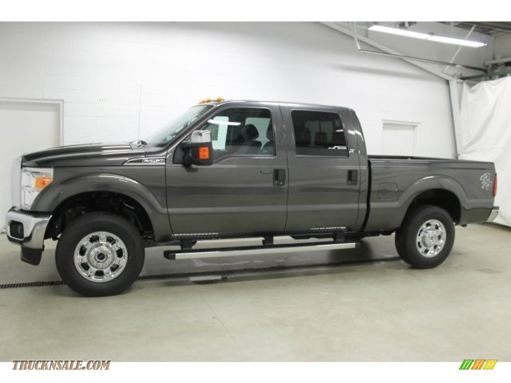 2016 ford f250 super duty xlt crew cab 4x4 in magnetic metallic b12821 truck n 39 sale. Black Bedroom Furniture Sets. Home Design Ideas