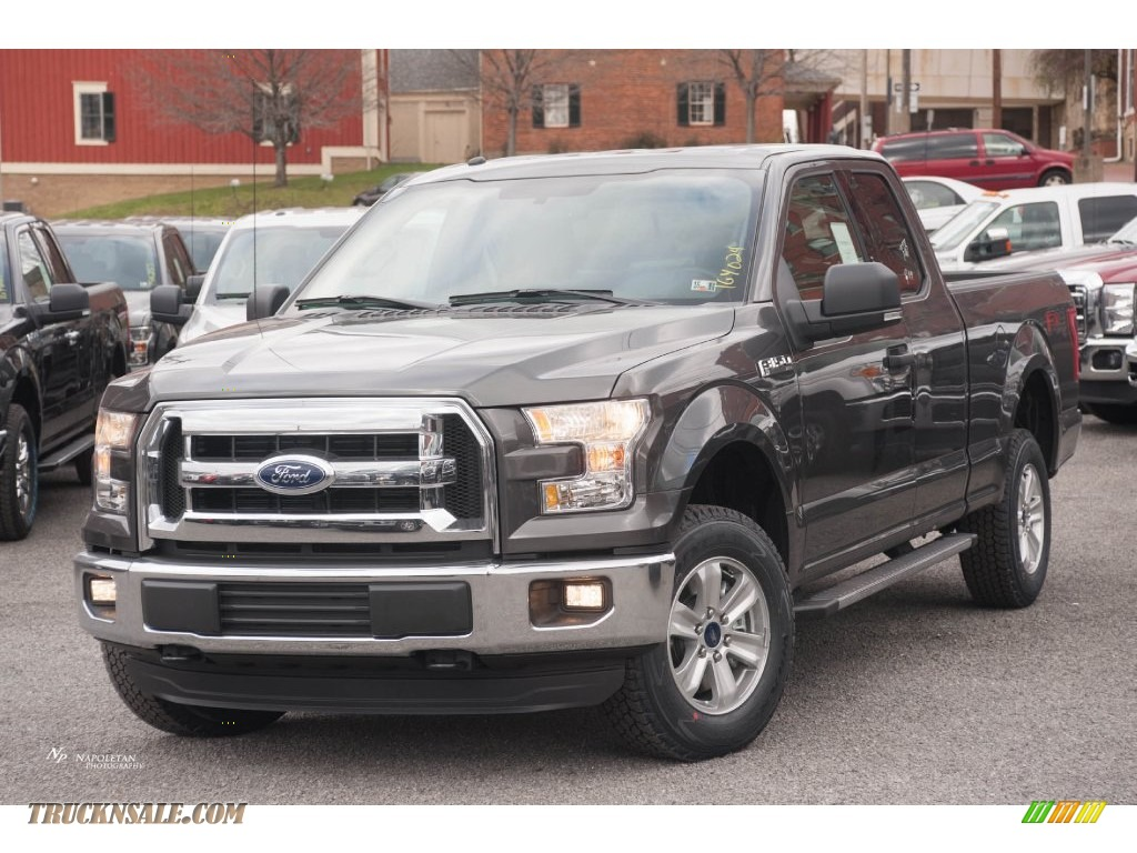 2016 ford f150 xlt supercab 4x4 in magnetic a36245 truck n 39 sale. Black Bedroom Furniture Sets. Home Design Ideas