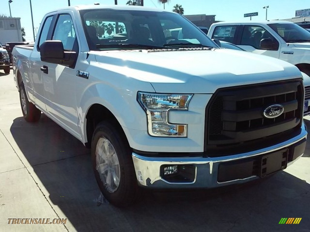 2015 ford f150 xl supercab in oxford white e83378 truck n 39 sale. Black Bedroom Furniture Sets. Home Design Ideas