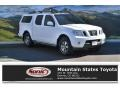 Nissan Frontier Pro-4X Crew Cab 4x4 Avalanche White photo #1