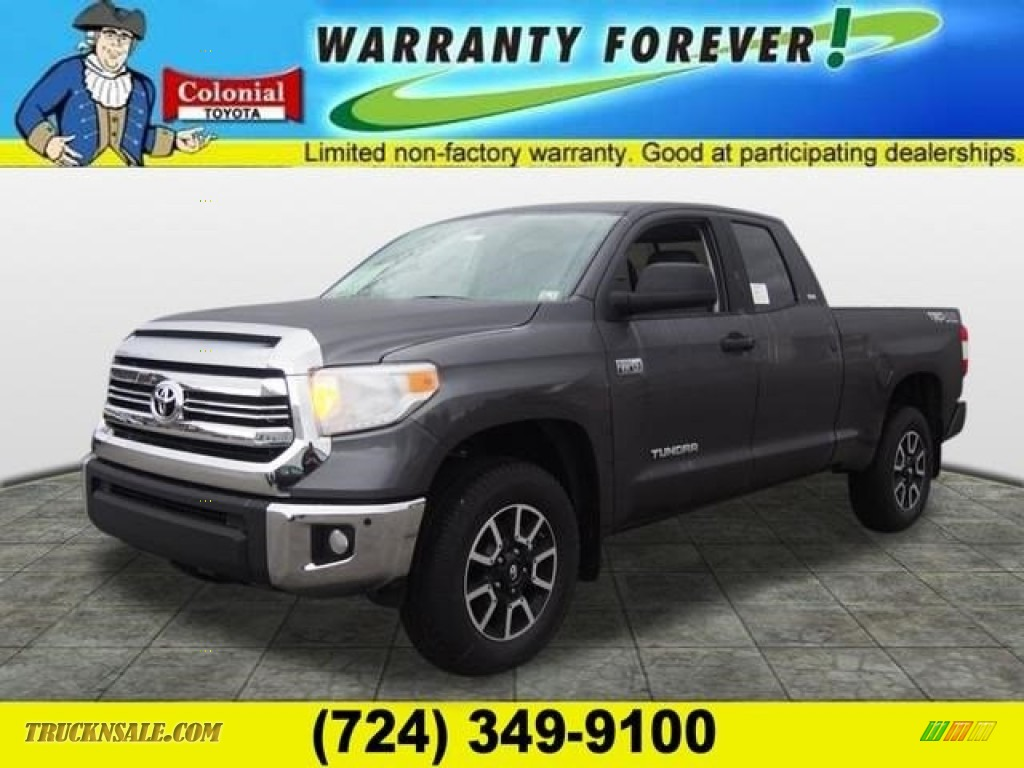 2016 toyota tundra sr5 double cab 4x4 in magnetic gray. Black Bedroom Furniture Sets. Home Design Ideas