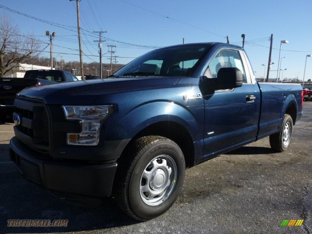 2016 ford f150 xl regular cab in blue jeans photo 9 d08689 truck n 39 sale. Black Bedroom Furniture Sets. Home Design Ideas