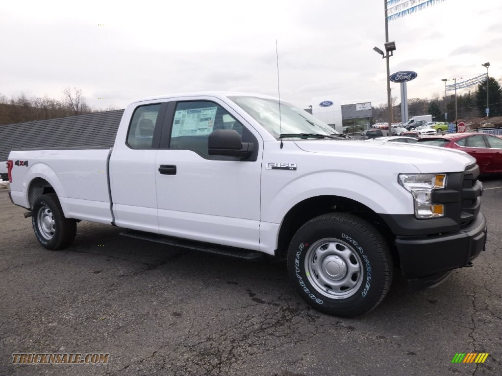 2016 ford f150 xl supercab 4x4 in oxford white d41730 truck n 39 sale. Black Bedroom Furniture Sets. Home Design Ideas