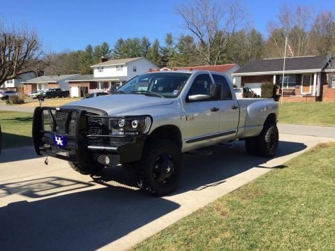 Bright Silver Metallic 2007 Dodge Ram 3500 ST Quad Cab 4x4 Dually