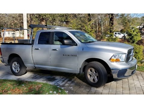 Bright Silver Metallic 2012 Dodge Ram 1500 SLT Quad Cab 4x4