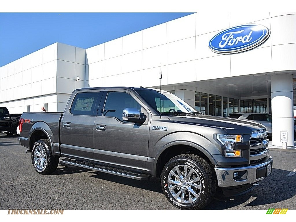 2016 ford f150 lariat supercrew 4x4 in magnetic a96232. Black Bedroom Furniture Sets. Home Design Ideas
