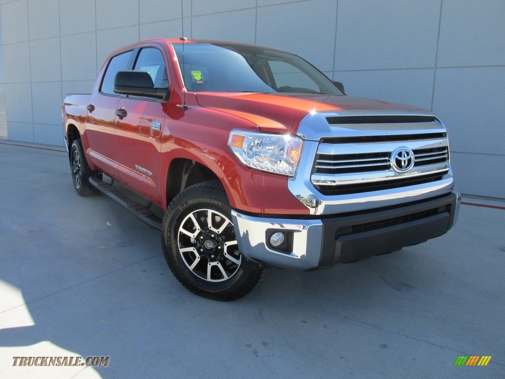 2016 toyota tundra sr5 crewmax 4x4 in inferno orange 544336 truck n 39 sale. Black Bedroom Furniture Sets. Home Design Ideas