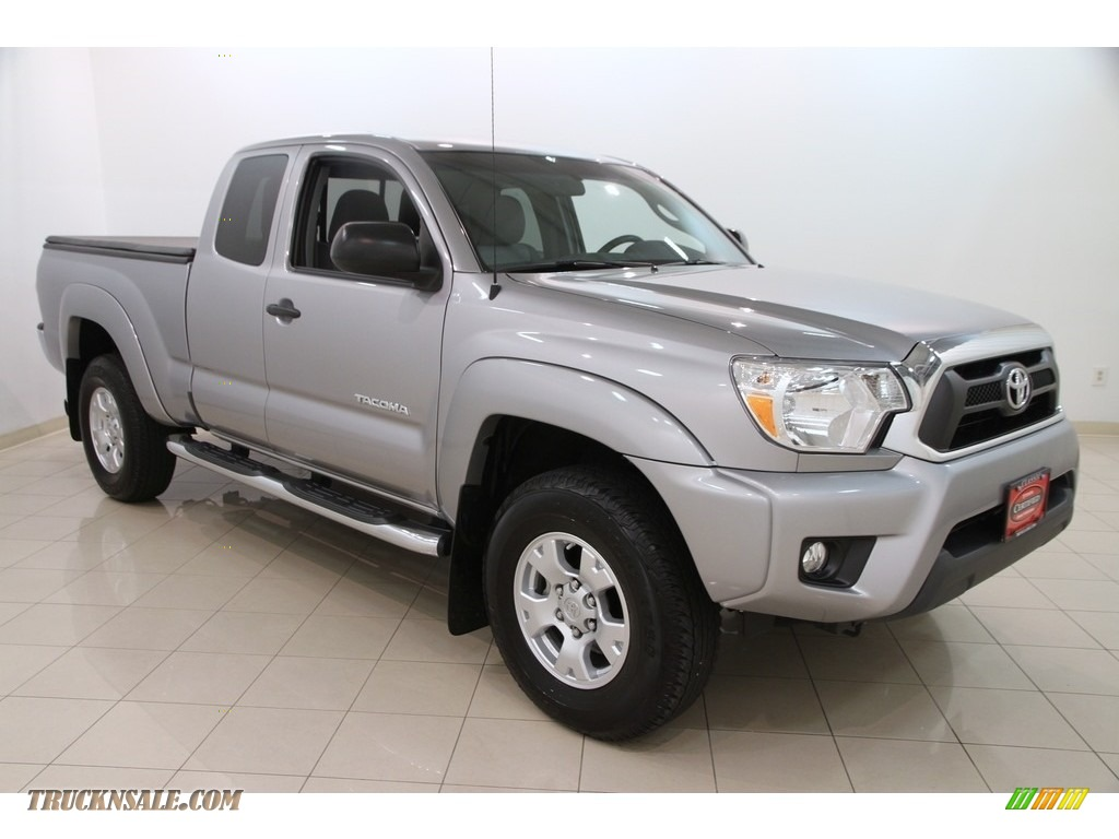 2015 toyota tacoma v6 access cab 4x4 in silver sky metallic 129333 truck n 39 sale. Black Bedroom Furniture Sets. Home Design Ideas