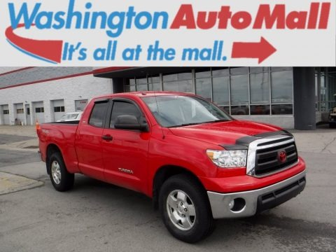 Radiant Red 2011 Toyota Tundra TRD Double Cab 4x4