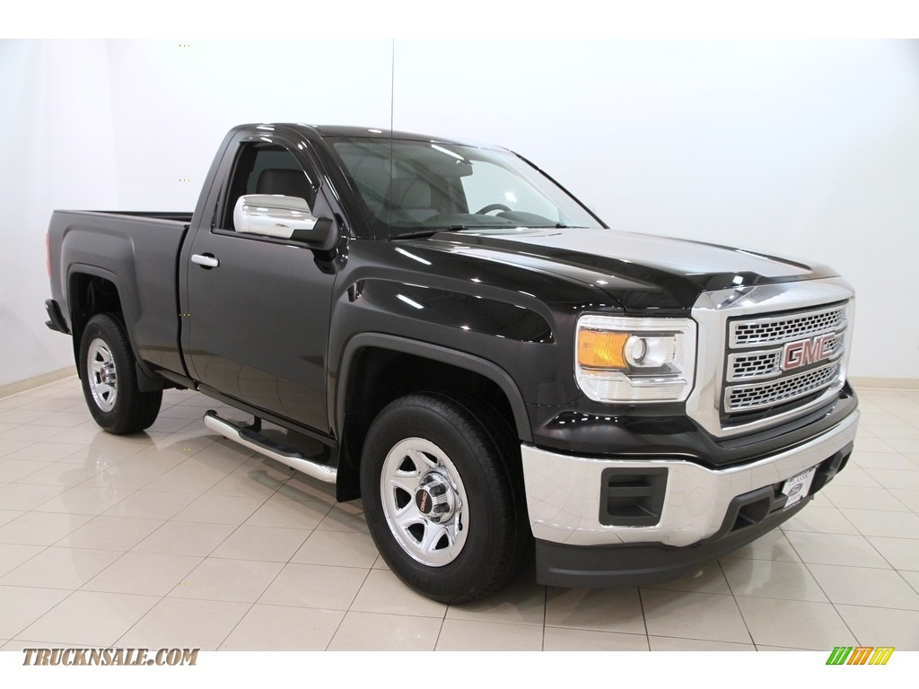 2014 gmc sierra 1500 regular cab in onyx black 258366 truck n 39 sale. Black Bedroom Furniture Sets. Home Design Ideas