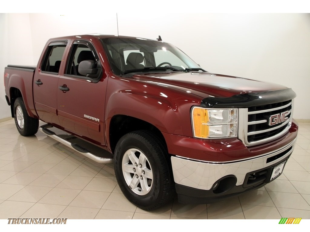 2013 gmc sierra 1500 sle crew cab 4x4 in sonoma red metallic 224972 truck n 39 sale. Black Bedroom Furniture Sets. Home Design Ideas