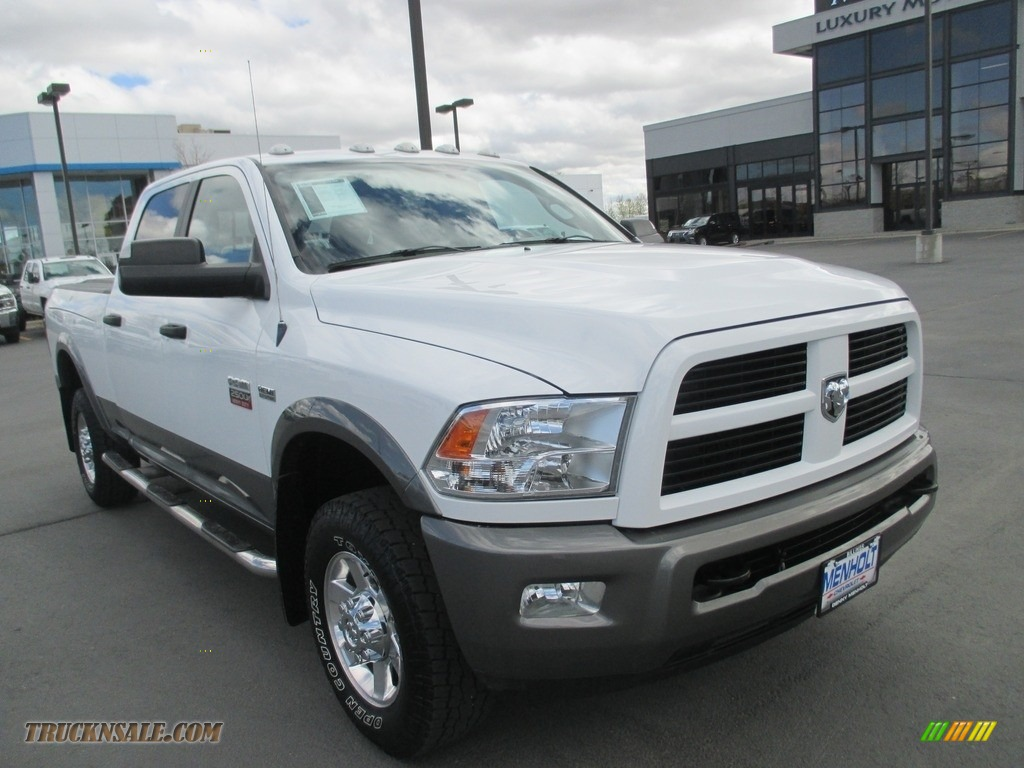 2012 dodge ram 2500 hd slt crew cab 4x4 in bright white 188083 truck n 39 sale. Black Bedroom Furniture Sets. Home Design Ideas