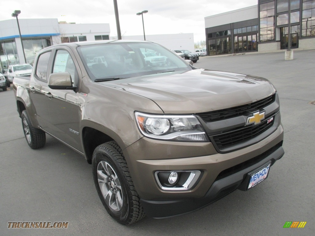 2016 chevrolet colorado z71 crew cab 4x4 in brownstone metallic 246648 truck n 39 sale. Black Bedroom Furniture Sets. Home Design Ideas