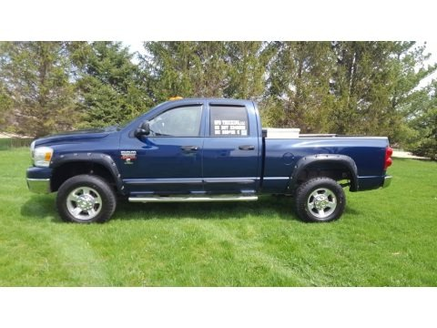 Patriot Blue Pearl 2007 Dodge Ram 2500 Big Horn Edition Quad Cab 4x4