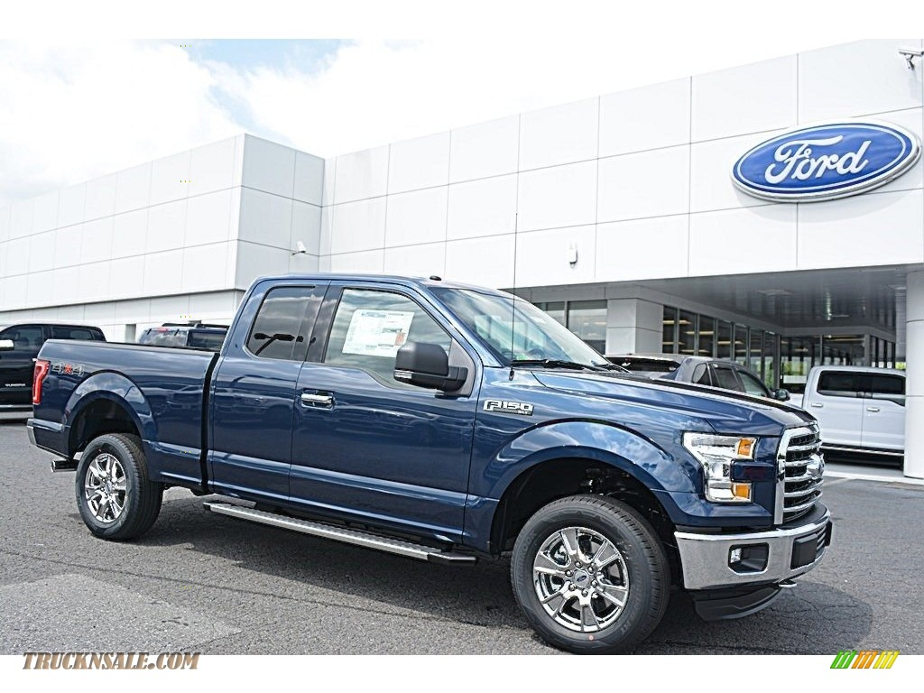 2016 ford f150 xlt supercab 4x4 in blue jeans c12003 truck n 39 sale. Black Bedroom Furniture Sets. Home Design Ideas