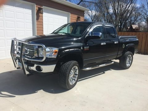 Brilliant Black Crystal Pearl 2009 Dodge Ram 2500 SLT Quad Cab 4x4