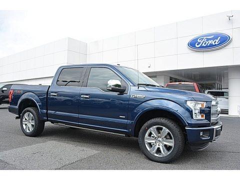 Blue Jeans 2016 Ford F150 Platinum SuperCrew 4x4