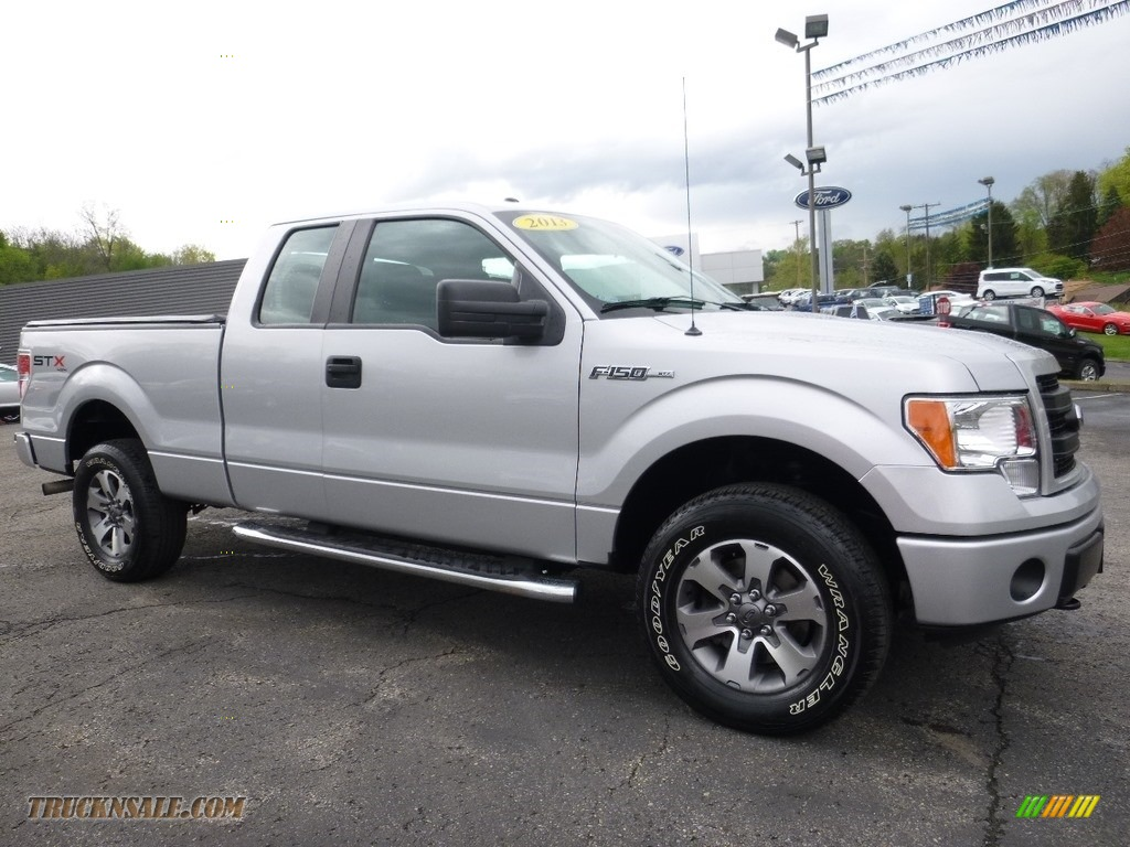 2013 ford f150 stx supercab 4x4 in ingot silver metallic f70204 truck n 39 sale. Black Bedroom Furniture Sets. Home Design Ideas