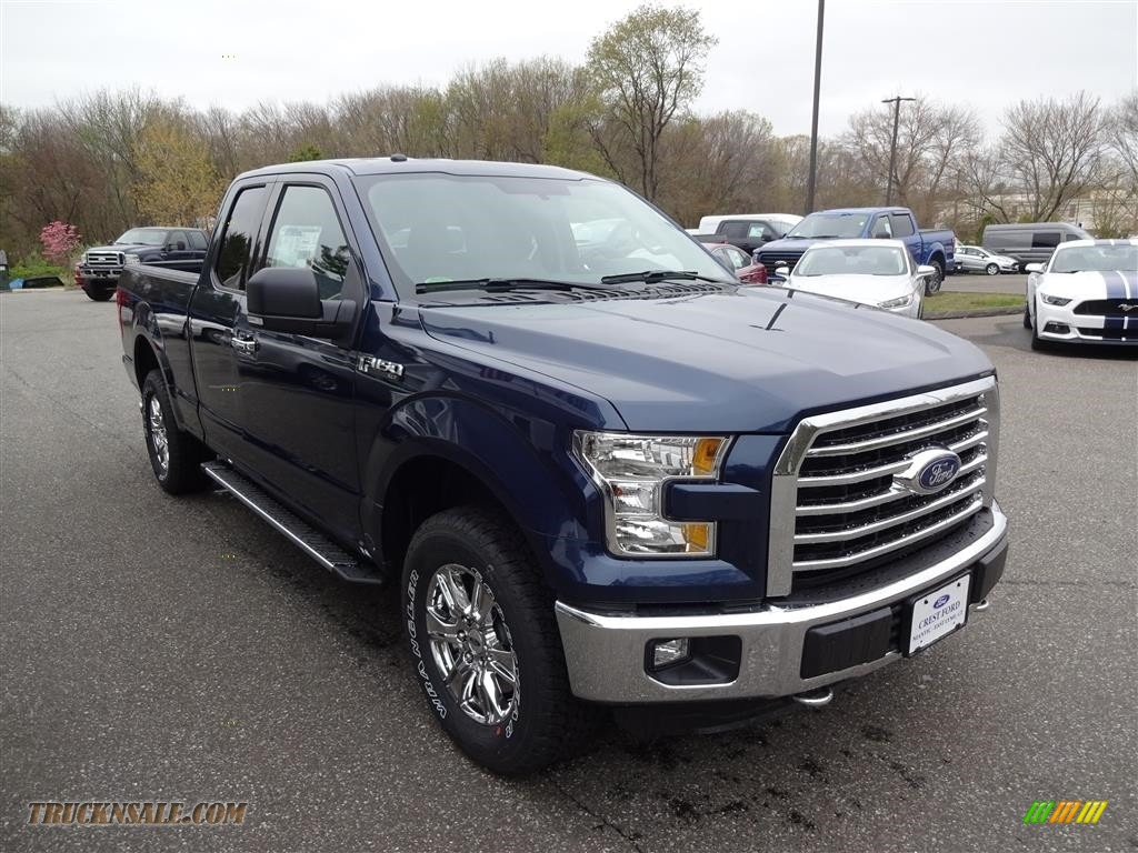 2016 ford f150 xlt supercab 4x4 in blue jeans c03967 truck n 39 sale. Black Bedroom Furniture Sets. Home Design Ideas