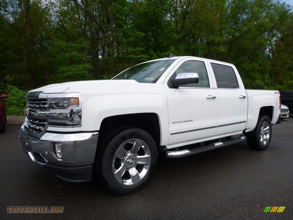 2016 chevrolet silverado 1500 ltz crew cab 4x4 in summit white 312715 truck n 39 sale. Black Bedroom Furniture Sets. Home Design Ideas