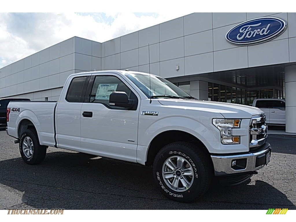 2016 ford f150 xlt supercab 4x4 in oxford white c12002 truck n 39 sale. Black Bedroom Furniture Sets. Home Design Ideas