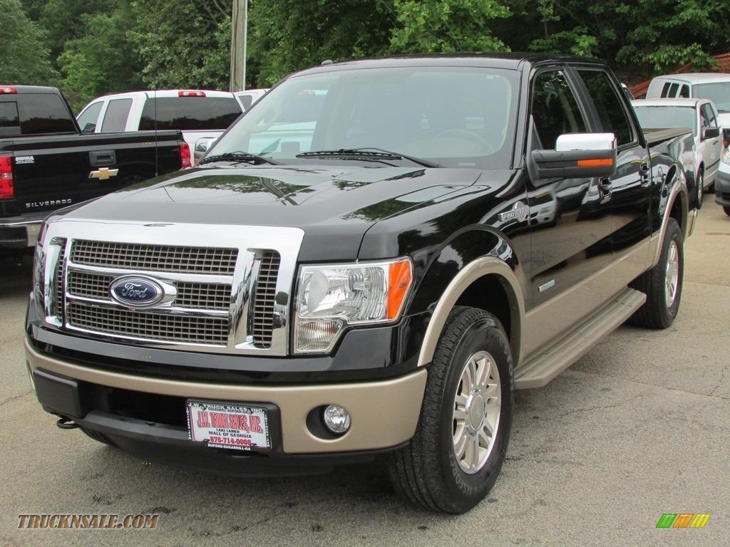 2011 ford f150 king ranch supercrew 4x4 in tuxedo black metallic d72934 truck n 39 sale. Black Bedroom Furniture Sets. Home Design Ideas