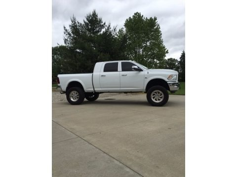 Bright White 2011 Dodge Ram 2500 HD Laramie Mega Cab 4x4