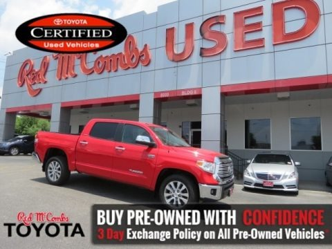 Radiant Red 2016 Toyota Tundra Limited CrewMax