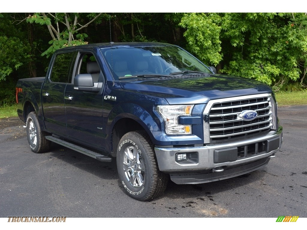 2016 ford f150 xlt supercrew 4x4 in blue jeans b80888 truck n 39 sale. Black Bedroom Furniture Sets. Home Design Ideas
