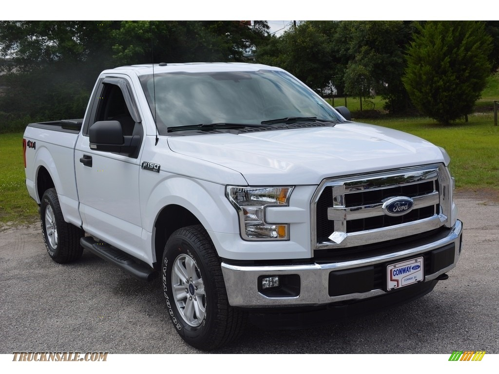 2016 ford f150 xlt regular cab 4x4 in oxford white d69743 truck n 39 sale. Black Bedroom Furniture Sets. Home Design Ideas