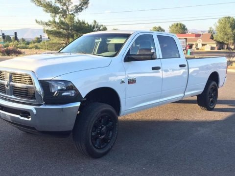 Bright White 2010 Dodge Ram 2500 ST Crew Cab 4x4