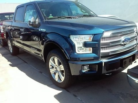 Blue Jeans 2016 Ford F150 Platinum SuperCrew 4x4