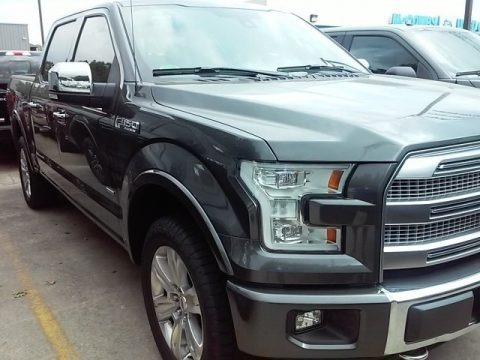 Magnetic 2016 Ford F150 Platinum SuperCrew 4x4