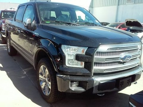Shadow Black 2016 Ford F150 Platinum SuperCrew 4x4