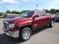 GMC Sierra 1500 SLE Double Cab 4WD Crimson Red Tintcoat photo #1