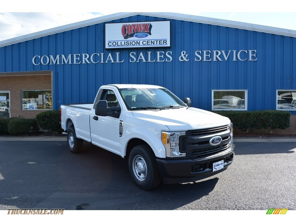 2017 ford f250 super duty xl regular cab in oxford white b26367 truck n 39 sale. Black Bedroom Furniture Sets. Home Design Ideas