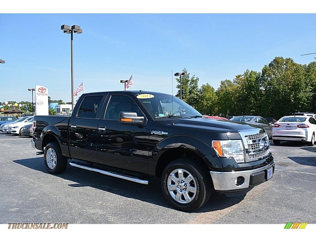 2014 ford f150 xlt supercrew in tuxedo black c84253 truck n 39 sale. Black Bedroom Furniture Sets. Home Design Ideas