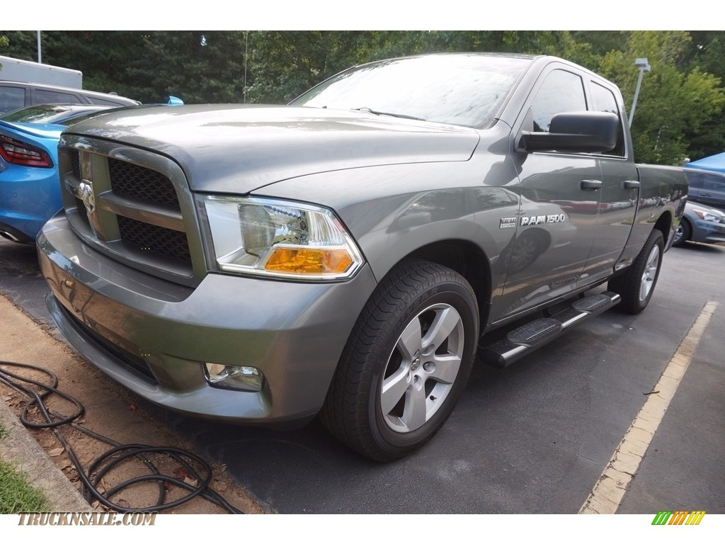 2012 dodge ram 1500 express quad cab in mineral gray metallic 130496 truck n 39 sale. Black Bedroom Furniture Sets. Home Design Ideas