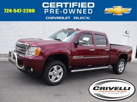 Sonoma Red Metallic 2013 GMC Sierra 2500HD Denali Crew Cab 4x4